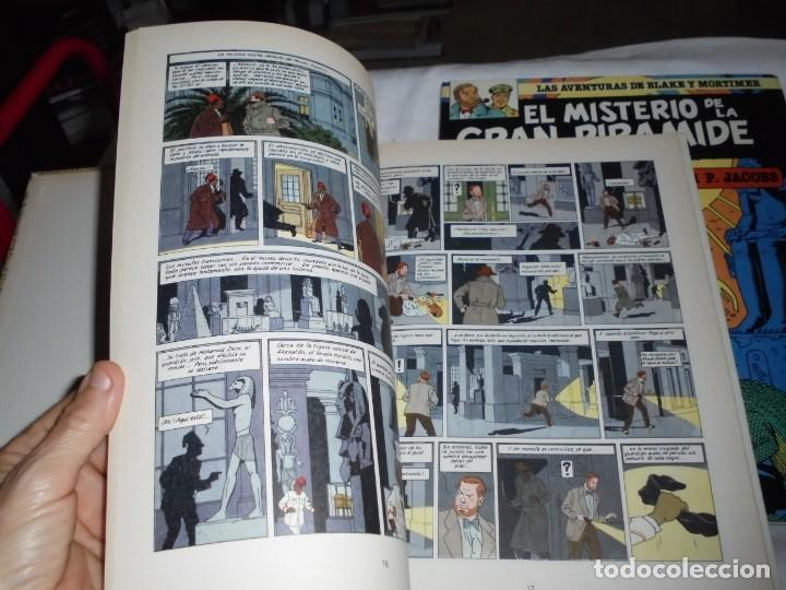 Cómics: EL MISTERIO DE LA GRAN PIRAMIDE.EDGAR P.JACOBS.COMPLETA 2 TOMOS.EDICIONES JUNIOR 1983.-1ª EDCION - Foto 6 - 166721810