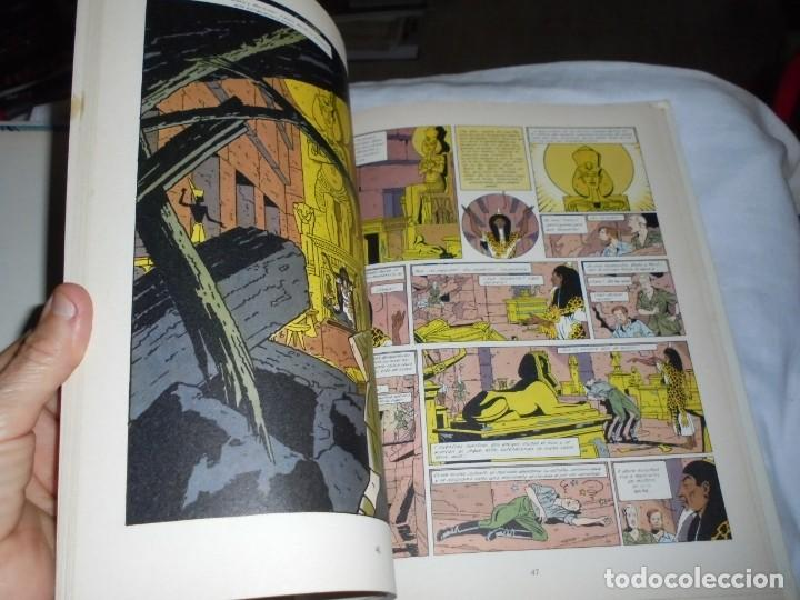 Cómics: EL MISTERIO DE LA GRAN PIRAMIDE.EDGAR P.JACOBS.COMPLETA 2 TOMOS.EDICIONES JUNIOR 1983.-1ª EDCION - Foto 9 - 166721810