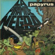 Cómics: PAPYRUS - JUNIOR (GRIJALBO-MONDADORI) / NÚMERO 10 - LA PIRÁMIDE NEGRA. Lote 166846498