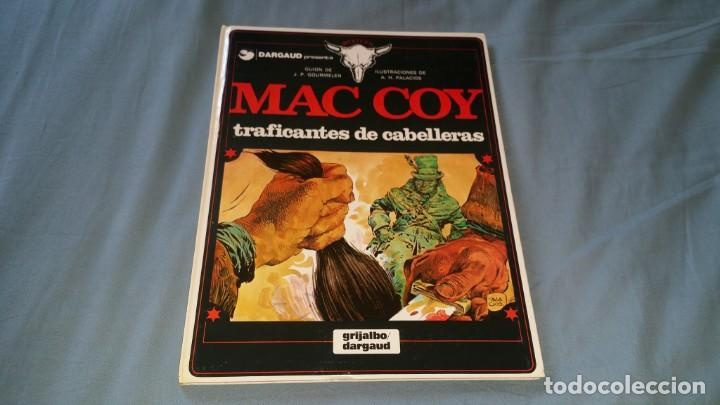 MAC COY 7 TRAFICANTES DE CABELLERAS - PALACIOS GRIJALBO EN MUY BUEN ESTADO (Tebeos y Comics - Grijalbo - Mac Coy)