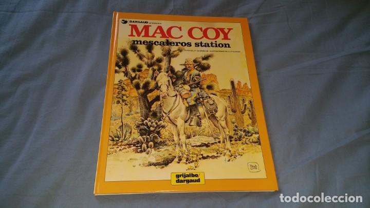 MAC COY 15 MESCALEROS STATION - PALACIOS GRIJALBO EN MUY BUEN ESTADO (Tebeos y Comics - Grijalbo - Mac Coy)