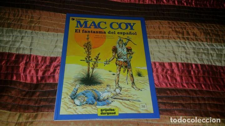MAC COY 16 EL FANTASMA DEL ESPAÑOL PALACIOS (Tebeos y Comics - Grijalbo - Mac Coy)