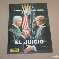 Cómics: XIII Nº 12, TAPA DURA , EDITORIAL GRIJALBO. Lote 167524576