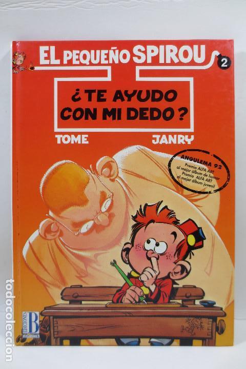 EL PEQUEÑO SPIROU NUM. 2 TE AYUDO CON MI DEDO (TAPA DURA) (Tebeos y Comics - Grijalbo - Spirou)