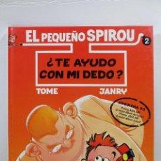 Cómics: EL PEQUEÑO SPIROU NUM. 2 TE AYUDO CON MI DEDO (TAPA DURA). Lote 167617092