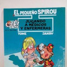 Cómics: EL PEQUEÑO SPIROU NUM. 3 JUGANDO A MÉDICOS Y ENFERMERAS (TAPA BLANDA). Lote 167617452