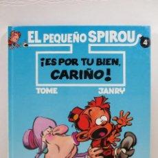 Cómics: EL PEQUEÑO SPIROU NUM. 4 ¡ES POR TU BIEN, CARIÑO! (TAPA DURA). Lote 167617648