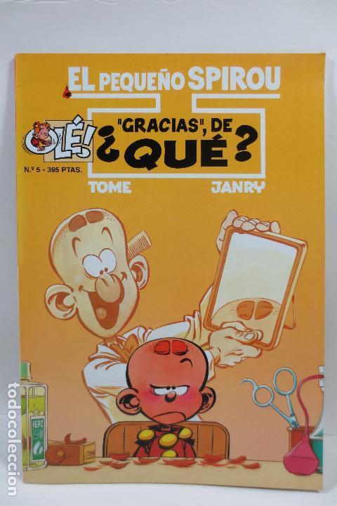EL PEQUEÑO SPIROU NUM. 5 ''GRACIAS'', DE QUÉ (TAPA BLANDA) (Tebeos y Comics - Grijalbo - Spirou)