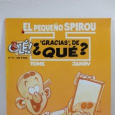 Cómics: EL PEQUEÑO SPIROU NUM. 5 ''GRACIAS'', DE QUÉ (TAPA BLANDA). Lote 229261745