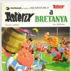 Cómics: ASTERIX A BRETANYA - GRIJALBO DARGAUD - COMIC EN CATALAN. Lote 167649036