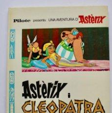 Cómics: ASTERIX I CLEOPATRA-. GUIÓN R. GOSCINNY, DIBUJOS A. UDERZO. GRIJALBO/DARGAUD. AÑO 1976-EN CATALÀ. Lote 167660034