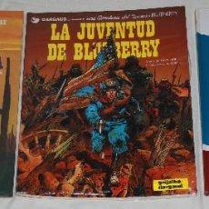Cómics: BLUEBERRY - LOTE 3 ÁLBUMES - CHARLIER & GIRAUD - GRIJALBO/DARGAUD. Lote 167750144