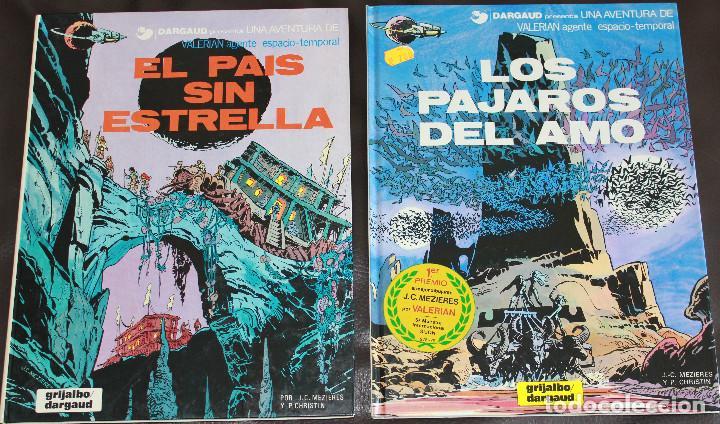 VALERIAN AGENTE ESPACIO-TEMPORAL - 2 ÁLBUMES Nº 2 & 4 - GRIJALBO-DARGAUD (Tebeos y Comics - Grijalbo - Valerian)