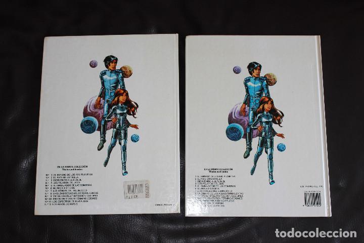 Cómics: Valerian Agente Espacio-temporal - 2 Álbumes Nº 2 & 4 - Grijalbo-Dargaud - Foto 2 - 167750804