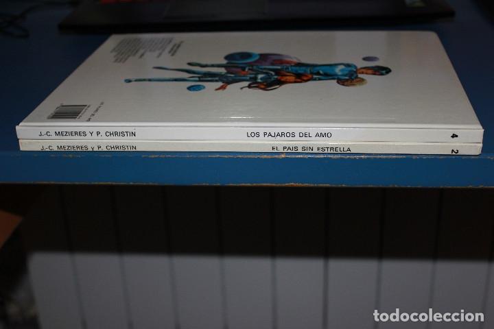 Cómics: Valerian Agente Espacio-temporal - 2 Álbumes Nº 2 & 4 - Grijalbo-Dargaud - Foto 3 - 167750804