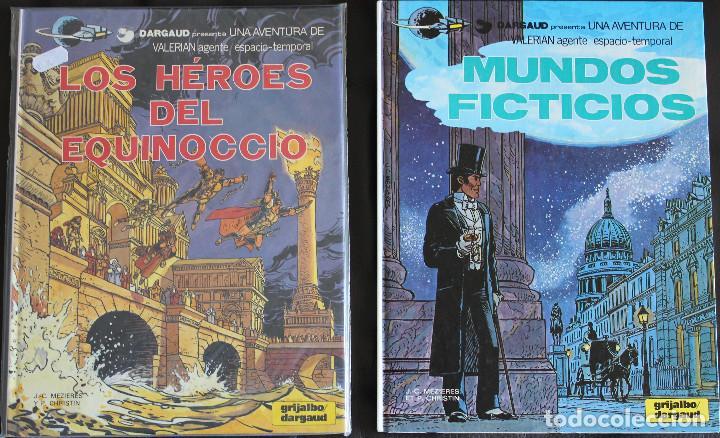 VALERIAN AGENTE ESPACIO-TEMPORAL - 2 ÁLBUMES Nº 6 & 7 - GRIJALBO-DARGAUD (Tebeos y Comics - Grijalbo - Valerian)