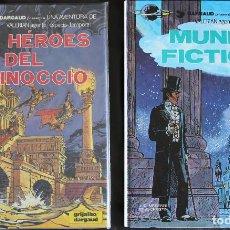 Cómics: VALERIAN AGENTE ESPACIO-TEMPORAL - 2 ÁLBUMES Nº 6 & 7 - GRIJALBO-DARGAUD. Lote 167750860