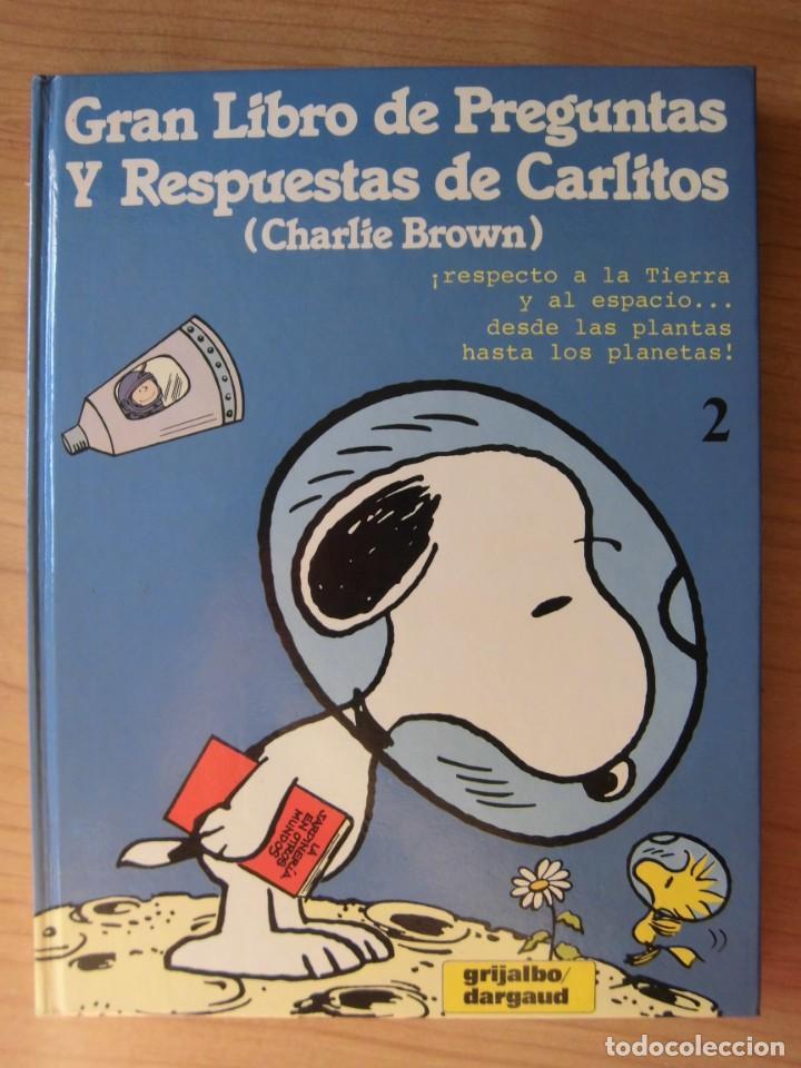 TOMO 2 GRAN LIBRO DE PREGUNTAS Y RESPUESTAS DE CARLITOS CHARLIE BROWN (Tebeos y Comics - Grijalbo - Otros)