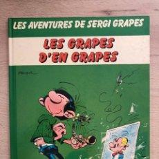 Fumetti: GASTON LAGAFFE. SERGI GRAPES. FRANQUIN. 1A. EDICIÓN. CATALÁN.. Lote 168480812