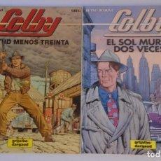 Cómics: COLBY - GRIJALBO-DARGAUD / COLECCIÓN COMPLETA. Lote 168692312