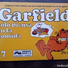 Comics : GARFIELD 17. SOLO PIENSA EN LA COMIDA. Lote 168807324