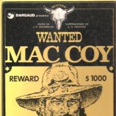 Cómics: MAC COY Nº 5 WANTED - PALACIOS. Lote 168965404