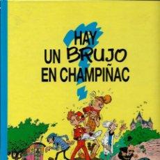 Cómics: HAY UN BRUJO EN CHAMPIÑAC - LAS AVENTURAS DE SPIROU Nº 1 - ED. JUNIOR 1993, 1ª EDICION - COMO NUEVO. Lote 168999024