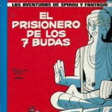 Cómics: EL PRISIONERO DE LOS 7 BUDAS - AVENTURAS DE SPIROU Nº 12 - JUNIOR 1990, 2ª EDICION, TAPA DURA, NUEVO. Lote 169001148
