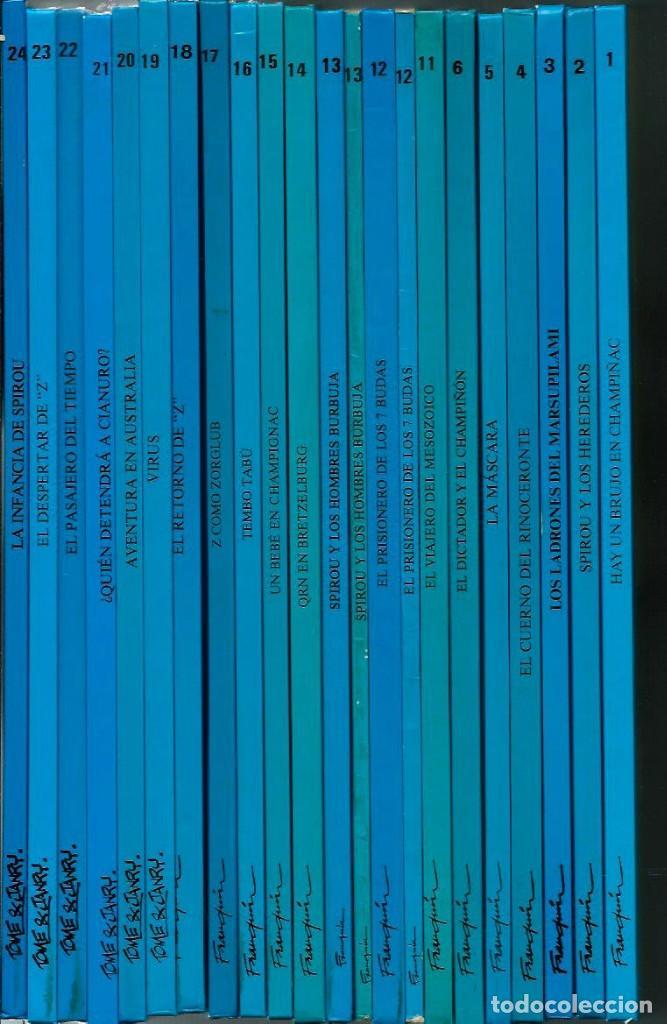 Cómics: ¿ QUIEN DETENDRA A CIANURO ? - LAS AVENTURAS DE SPIROU Nº 21 - JUNIOR 1989, 1ª EDICION, COMO NUEVO - Foto 2 - 169003988