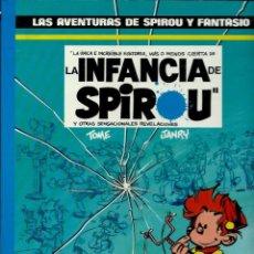 Cómics: LA INFANCIA DE SPIROU - LAS AVENTURAS DE SPIROU Nº 24 - JUNIOR 1990, 1ª EDICION, COMO NUEVO. Lote 169004632