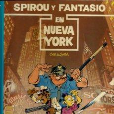 Cómics: SPIROU Y FANTASIO EN NUEVA YORK - LAS AVENTURAS DE SPIROU Nº 25 - JUNIOR 1991 1ª EDICION, COMO NUEVO. Lote 169005012