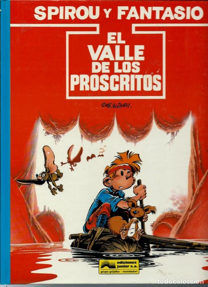 EL VALLE DE LOS PROSCRITOS - LAS AVENTURAS DE SPIROU Nº 27 - JUNIOR 1991 1ª EDICION, COMO NUEVO (Tebeos y Comics - Grijalbo - Spirou)