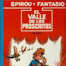 Cómics: EL VALLE DE LOS PROSCRITOS - LAS AVENTURAS DE SPIROU Nº 27 - JUNIOR 1991 1ª EDICION, COMO NUEVO. Lote 169005400