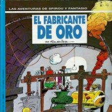 Cómics: EL FABRICANTE DE ORO - LAS AVENTURAS DE SPIROU Nº 33 - ED. JUNIOR 1993, 1ª EDICION - COMO NUEVO. Lote 169006640