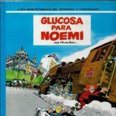 Cómics: GLUCOSA PARA NOEMI - LAS AVENTURAS DE SPIROU Nº 34 - ED. JUNIOR 1993, 1ª EDICION - COMO NUEVO. Lote 169006808