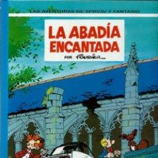 Cómics: LA ABADIA ENCANTADA - LAS AVENTURAS DE SPIROU Nº 35 - ED. JUNIOR 1994, 1ª EDICION - COMO NUEVO. Lote 169006936