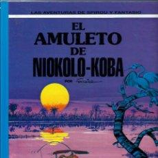 Cómics: EL AMULETO DE NIOKOLO-KOBA - LAS AVENTURAS DE SPIROU Nº 37 - ED JUNIOR 1994, 1ª EDICION - COMO NUEVO. Lote 169007252