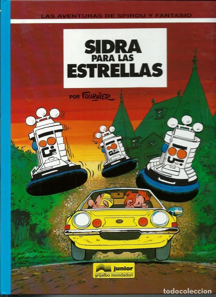SIDRA PARA LAS ESTRELLAS - LAS AVENTURAS DE SPIROU Nº 38 - ED JUNIOR 1994, 1ª EDICION - COMO NUEVO (Tebeos y Comics - Grijalbo - Spirou)