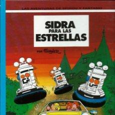 Cómics: SIDRA PARA LAS ESTRELLAS - LAS AVENTURAS DE SPIROU Nº 38 - ED JUNIOR 1994, 1ª EDICION - COMO NUEVO. Lote 169007476