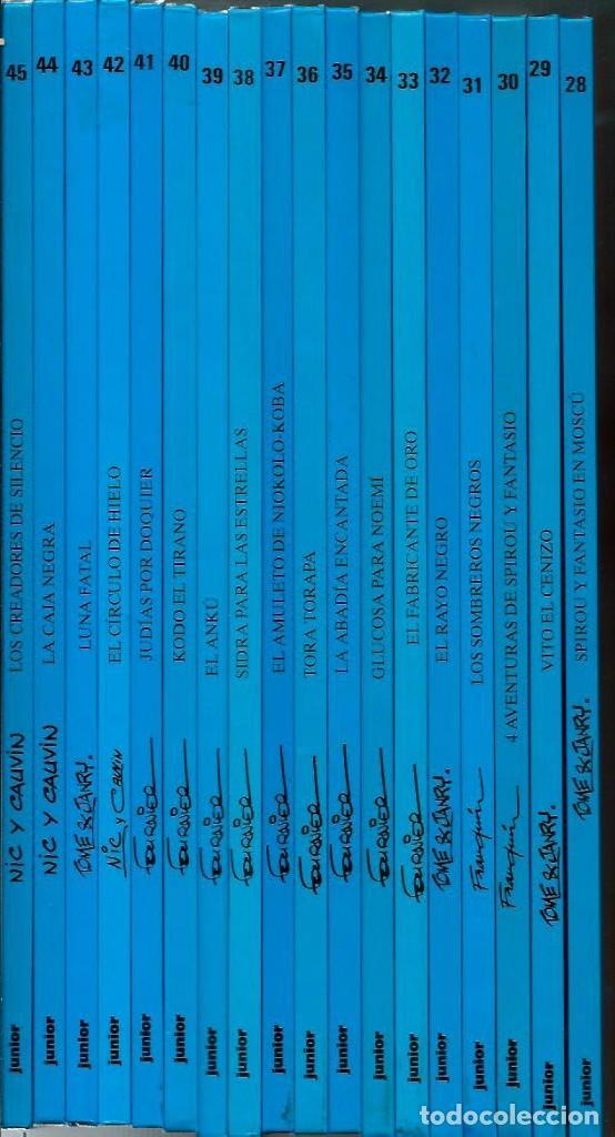 Cómics: SIDRA PARA LAS ESTRELLAS - LAS AVENTURAS DE SPIROU Nº 38 - ED JUNIOR 1994, 1ª EDICION - COMO NUEVO - Foto 2 - 169007476