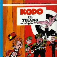 Cómics: KODO EL TIRANO - LAS AVENTURAS DE SPIROU Nº 40 - JUNIOR GRIJALBO 1995, 1ª EDICION - COMO NUEVO. Lote 169007736