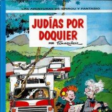 Cómics: JUDIAS POR DOQUIER - LAS AVENTURAS DE SPIROU Nº 41 - JUNIOR GRIJALBO 1995, 1ª EDICION - COMO NUEVO. Lote 169007948