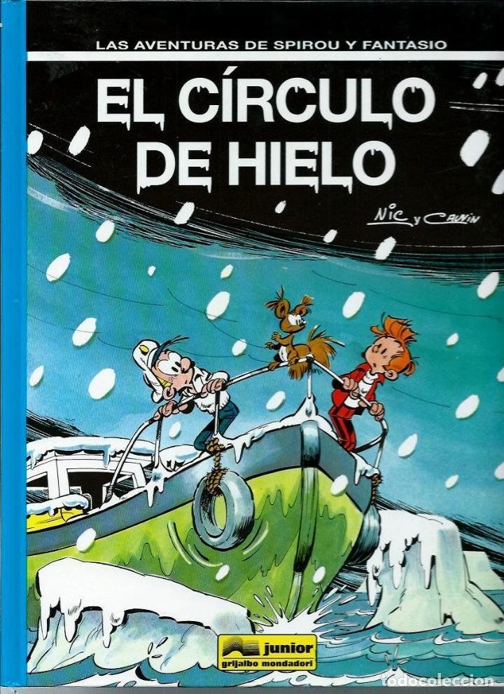 EL CIRCULO DE HIELO - LAS AVENTURAS DE SPIROU Nº 42 - JUNIOR GRIJALBO 1995, 1ª EDICION - COMO NUEVO (Tebeos y Comics - Grijalbo - Spirou)