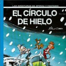 Cómics: EL CIRCULO DE HIELO - LAS AVENTURAS DE SPIROU Nº 42 - JUNIOR GRIJALBO 1995, 1ª EDICION - COMO NUEVO. Lote 169008068