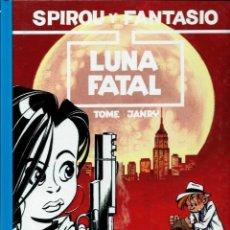 Cómics: LUNA FATAL - LAS AVENTURAS DE SPIROU Nº 43 - JUNIOR GRIJALBO 1996, 1ª EDICION - COMO NUEVO - DIFICIL. Lote 169008240