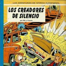 Cómics: LOS CREADORES DEL SILENCIO - LAS AVENTURAS DE SPIROU Nº 45 - JUNIOR 1996, 1ª EDICION - MUY NUEVO. Lote 169008596