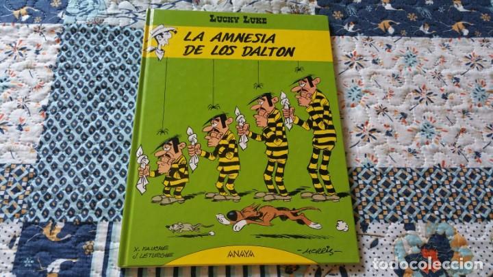 LUCKY LUKE 1 LA AMNESIA DE LOS DALTON ANAYA PRIMERA EDICIÓN 1992 (Tebeos y Comics - Grijalbo - Lucky Luke)
