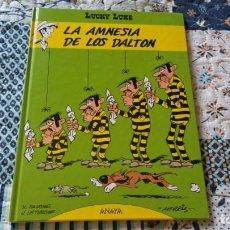 Cómics: LUCKY LUKE 1 LA AMNESIA DE LOS DALTON ANAYA PRIMERA EDICIÓN 1992. Lote 169107752