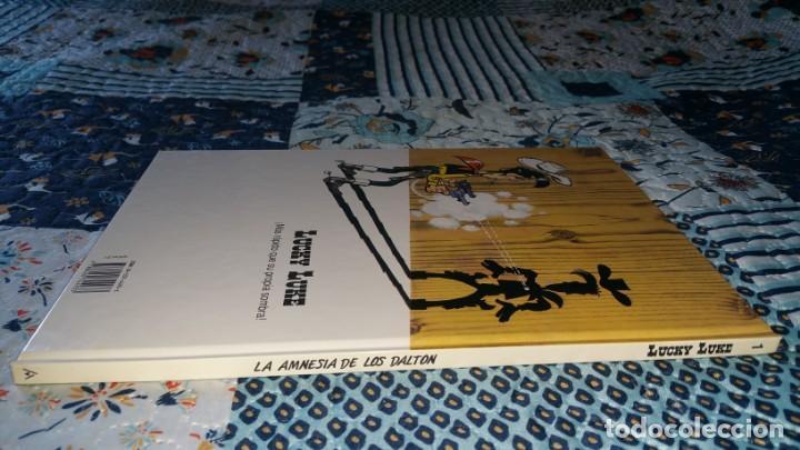 Cómics: LUCKY LUKE 1 LA AMNESIA DE LOS DALTON Anaya primera edición 1992 - Foto 2 - 169107752