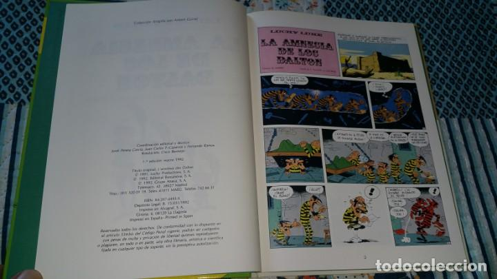 Cómics: LUCKY LUKE 1 LA AMNESIA DE LOS DALTON Anaya primera edición 1992 - Foto 3 - 169107752